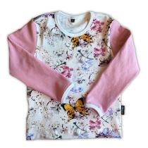 REA! Tröja fjäril/rosa