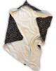 Babywrap - Trikå med foder i eko merinoull
