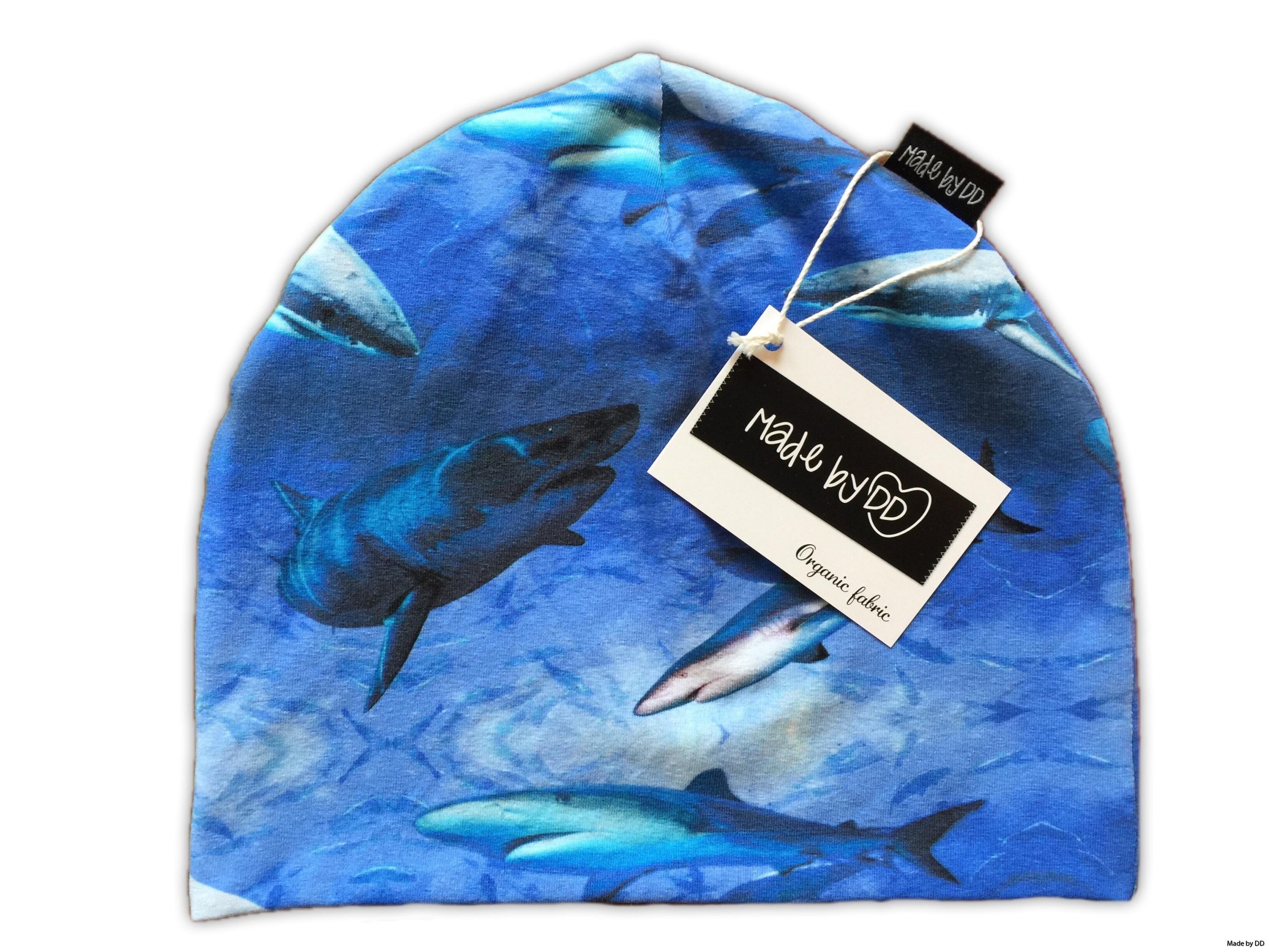 Mössa made by dd sharks GOTS