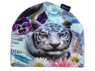 Mössa Tiger - REA köp direkt - 6-12 månader (ca 40 cm) Mössa Tiger