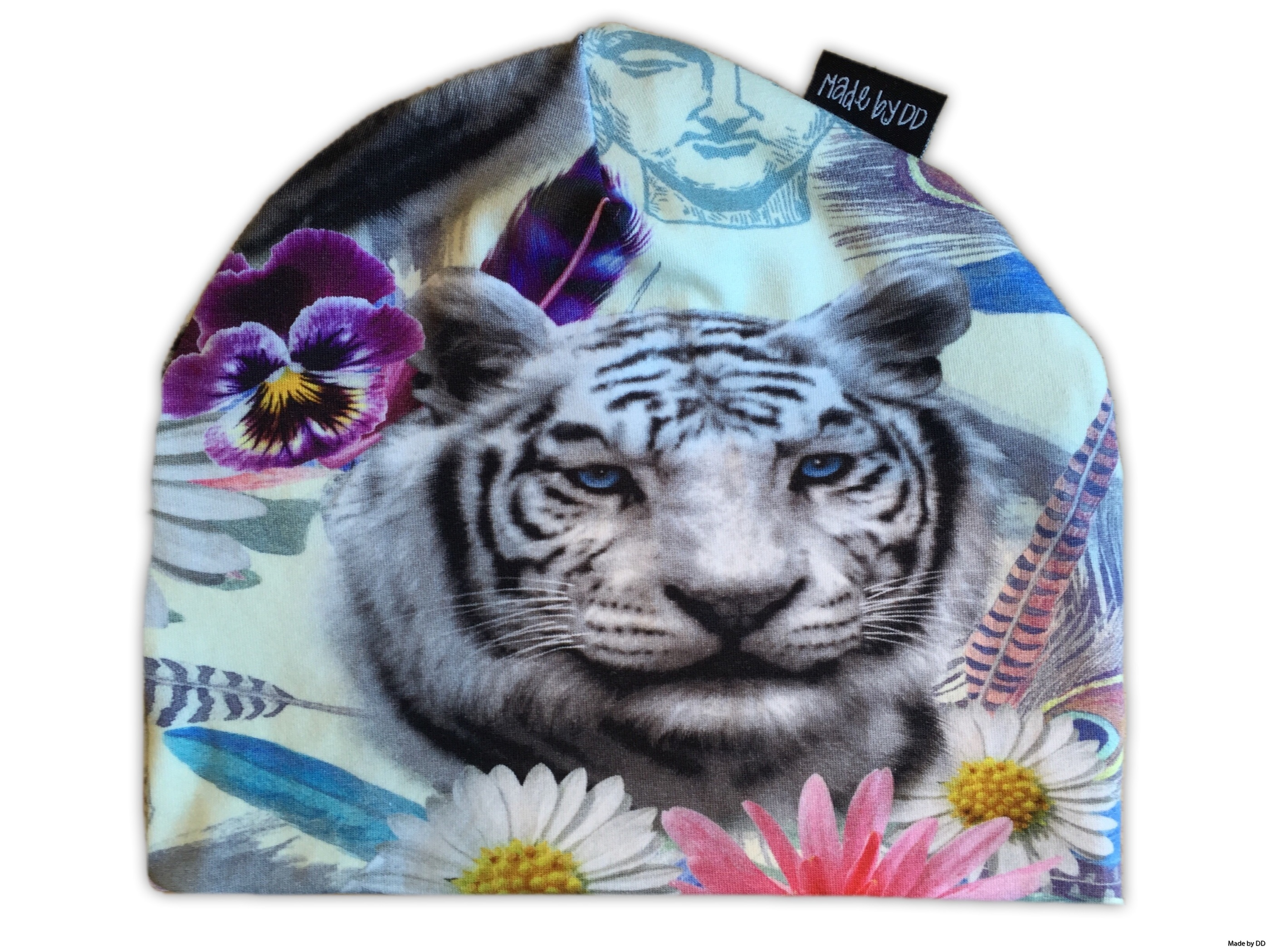 Made by DD mössa Tiger GOTS ekologisk