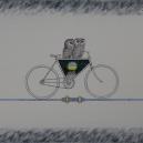 """I Passagen"" 40 x 48 cm"