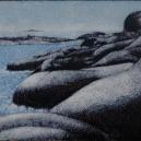 """""""Ytterhallskär"""" 14,5 x 17,5 cm"""
