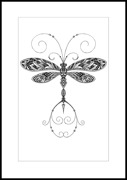 Patternful Dragonfly