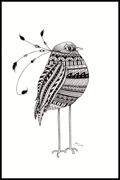 Patternful Bird