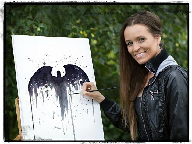 Konstnär Katarina Vintrafors