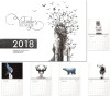 Väggkalender 2018