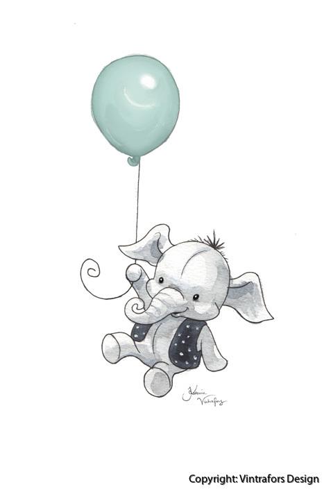 elefant flyger mintgron