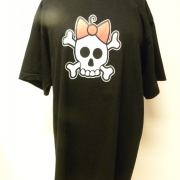 T-Shirt Skull Kitty