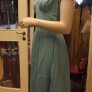 ljusblå klänning 40-50-tal