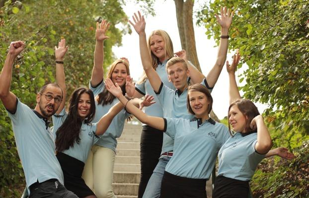 Här är några av alla de som är engagerade i Sverigefinska  Ungdomsförbundet.