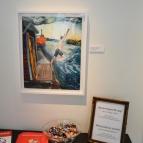 Anton Wiraes bastutavlor finns också med på utställningen