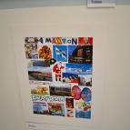 Här har Maxton skapat ett collage utifrån hans tankar om vad Finland är för honom