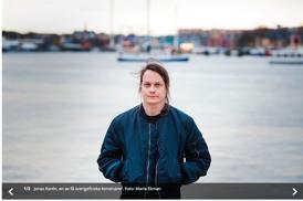 Skärmdump från minoritet.se