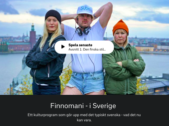 Skärmdump från SVT Play