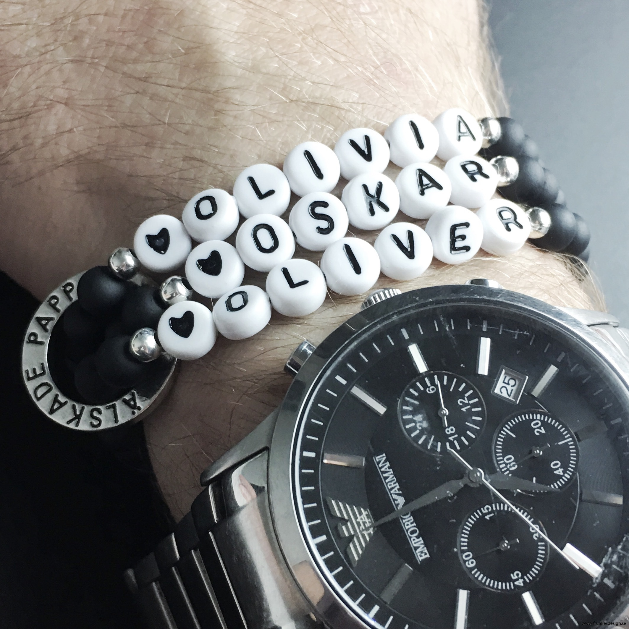 Armband Älskade pappa