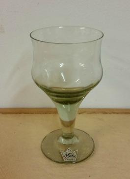 6 st gröntonade glas KOSTA. Höjd 10,5 cm. Pris 240 SEK