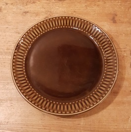 Assiett Egersund (4). Diam. 19,5 cm. Fint skick. 20 SEK/st