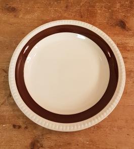 """Assiett Gefle """"Malta"""" (3). Diam. 19 cm. Fint skick. 25 SEK"""
