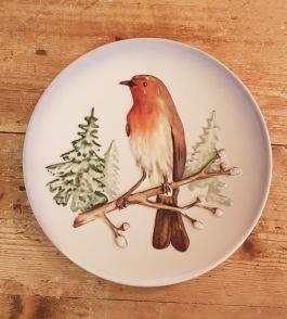 """Samlartallrik Goebel """"Robin"""". Diam. 19 cm. Fint skick. 50 SEK"""