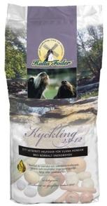 HUNDFODER HALLA KYCKLING & RIS 23-12 15KG - Hallafoder Kyckling & Ris