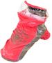 Hood Raincoat Rosa - Hood raincoat rosa XL