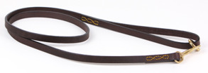 Eaton 120 svart & brunt skinn - 120 Brun/mässin  12mm