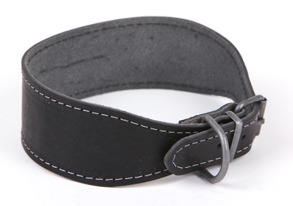 Greyhoundhalsband svart,brunt,rött,natur -  Greyhoundhalsband svart