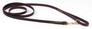 Eaton mässing svart & brunt skinn - Eaton brun/mässing 12mm