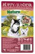 HUNDFODER NATUREDIET PUPPY 18 pack /JUNIOR 390GR
