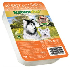 NATUREDIET RABBIT & TURKEY 18 pack 390GR -  NATUREDIET RABBIT & TURKEY 390GR 18 pack
