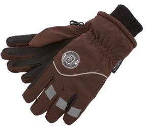 Thermohandske 5-finger - Thermohandske brun storlek 130