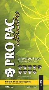 PRO PAC PUPPY LARGEBREED CHICKEN & BROWN RICE WHOLE - PRO PAC PUPPY LARGEBREED CHICKEN & BROWN RICE WHOLE 12KG