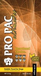 PRO PAC HEARTLAND CHOICE CHICKEN & POTATO GRAIN-FREE - PRO PAC HEARTLAND CHOICE CHICKEN & POTATO GRAIN-FREE 2,5kg