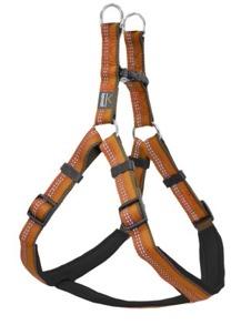 Dog Harness Step in Active - orange 40-60cm