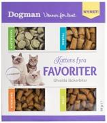 Kattens fyra favoriter
