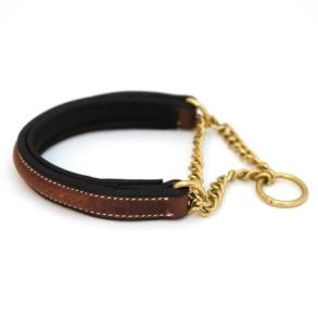 Halsband Halvstryp Asti - Brun,30cm