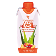 FOREVER ALOE PEACHES™- 330 ML 12-PACK