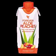 FOREVER ALOE PEACHES™- 330 ML 12-PACK