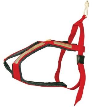Kryssele - röd 35-40cm 8-10kg XS