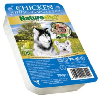 NATUREDIET CHICKEN 18 pack 390GR -  NATUREDIET CHICKEN 390GR
