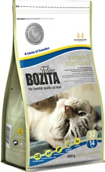 BOZITA FELINE INDOOR & STERILISED - BOZITA FELINE INDOOR & STERILISED 400 g
