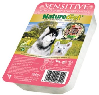NATUREDIET SENSITIVE 18 pack 390GR - NATUREDIET SENSITIVE 390GR 18 pack