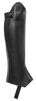 Shortchaps i läder - xxs längd 39.5cm vad 32-35cm