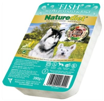 NATUREDIET FISH 18 pack 390GR  - NATUREDIET FISH 390GR 18 pack