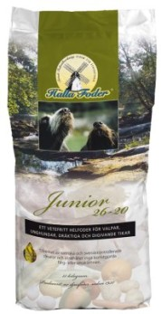 HUNDFODER HALLA JUNIOR 26-20 15KG - Hallafoder Junior