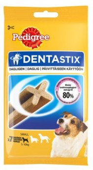 MF PEDIGREE DENTASTIX  7ST - MF PEDIGREE DENTASTIX SMALL 110GR 7ST