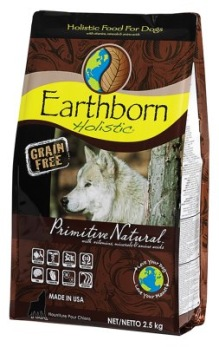 EARTHBORN HOLISTIC PRIMITIVE NATURAL GRAIN-FREE - Earthborn holistic grain free 2.5kg