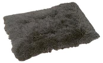Hundfäll med lång fleecepäls - Hundfäll långhårig fleece 75*50cm M