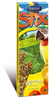 Stix papegoja TropicalFruits - Stix papegoja tropical fruits 2-pack